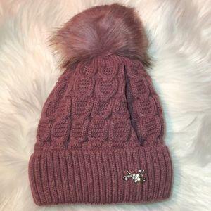 Accessories - Pom Pom Beanie Winter Beanie fluffy beanie